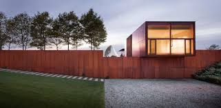 Cor ten steel Weathering Steel Weathering Steel 12 Corten Houses Built For Resiliency Dmoa Weathering Steel 12 Corten Houses Built For Resiliency Architizer