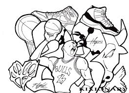 Small Picture Miami Heat Coloring Page Printable Basketball Coloring Pages
