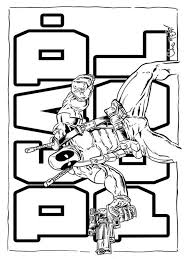 Small Picture Deadpool coloring pages Download and print Deadpool coloring pages