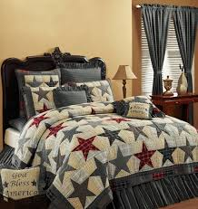 Country and Primitive Bedding, Quilts - America Bedding by ... & Country and Primitive Bedding, Quilts - America Bedding by Victorian Heart  - Country Decor, Adamdwight.com