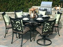 large round outdoor dining table large patio dining sets juanjosalvador