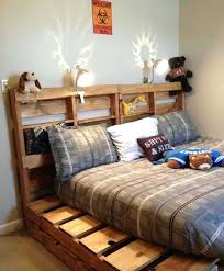 pallet bed frame side s queen size plans twin
