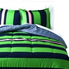 blue green comforter for and twin dark bedding room essentials pink rugby stripe reversible n