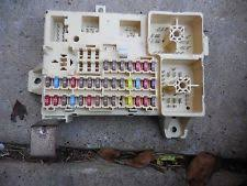 lincoln electric vehicle parts lincoln ls 2003 2006 used oem fuse box interior side kick panel xw4t 14a067