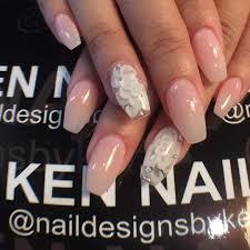 White Rose Nail Design 3d Nail Designs Kalde Bwong Co