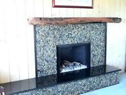 stone tile fireplace pebble fireplace tile around fireplace photo 3 of 8 pebble stone tile fireplace stone tile fireplace