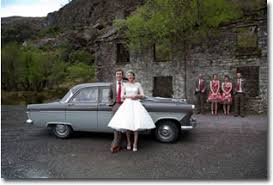 self drive wedding car hire in ireland by retroventures Wedding Cars Tralee self drive wedding car 1950's style rock and roll wedding cars tralee