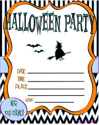 Free Halloween Birthday Invitation Templates Halloween Invitation Templates Free Printable Halloween