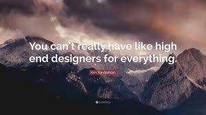 High End Designers