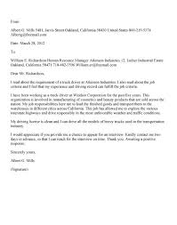 Cover Letter For Bus Driver driver cover letter examples - Gallery ...