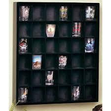 shot glass case wood shot glass wall curio display case shot glass display case michaels canada
