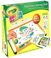 crayola color wonder mess free art desk