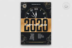 New Year Flyers Template New Year Flyer Template V10