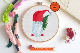 Christmas Gnome Pattern Magnificent Inspiration