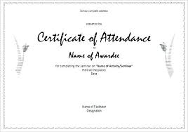 Employee Of The Month Free Online Printable Perfect Attendance Awards Customize Certificate