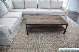 details on the pottery barn comfort roll arm sectional sunny side up