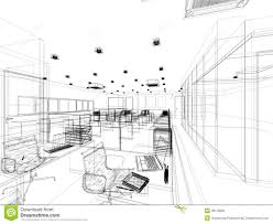 Delighful Interior Design Office Sketches Similar Stock Images Of Sketch Intended Beautiful