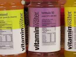 Vitamin Water Nutrition Chart Coke Sued For Fraudulent Claims On Obesity Promoting