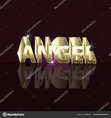 Angel Word Letter Sign Woman Name ...