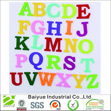china colorful numbers 26 letters diy felt for decoration china felt diy felt