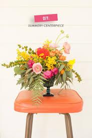 DIY Summer Flower Arrangement