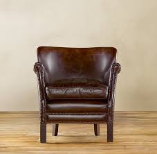 small leather chair. Restoration Hardware Makes Great Leather Furniture. I Can\u0027t Afford Any Of It, Small Chair