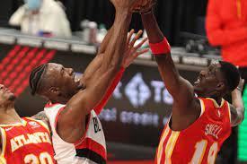 evaporates as Hawks fall to Blazers ...