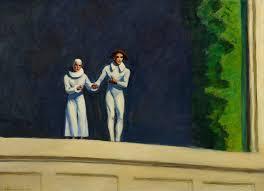 Edward Hopper Light And Dark Edward Hopper 1882 1967 Two Comedians Alain R Truong