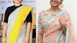 Saree Blouse Sleeve Designs 2018 Latest Elbow Sleeves Blouse Designs 2018 Latest Blouse