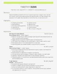 Resume Career Objective Customer Service Valid Career Change Resume