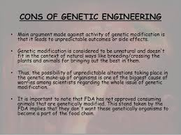 benefits of genetically modified foods for humans co genetically modified foods pros and cons essay review