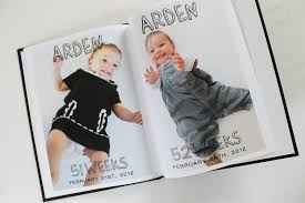 baby\u0027s first year photo book example Baby Photo Book Ideas: Baby\u0027s First Year \u2014 Mixbook Inspiration