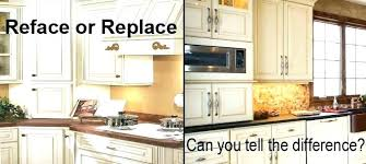 average cost of kitchen cabinet refacing. Cabinet Refacing Cost Resurface Kitchen Cabinets Costs Average To Refinish Of O