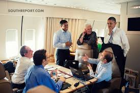air force one office. President Obama Talks To Senior Advisors Aboard Airforce One. Air Force One Office