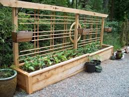 how to make a raised garden. Cheap And Easy DIY How To Make Raised Garden Beds With Fence (6) A