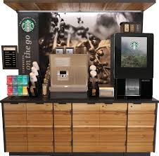 starbucks coffee vending machines. Brilliant Machines The Starbucks On The Go Kiosk Is A Convenient Selfserve Experience That  Offers Premium Espresso With Fresh Dairy And Requires Minimal Operational Effort In Starbucks Coffee Vending Machines O