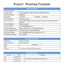 Simple Project Planning Template 007 Project Plan Examples For Management Simple Example