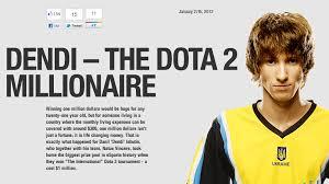esports news dendi and the million dollars gosugamers