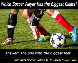 Small Picture Joke Which soccer player has the biggest cleats Fun Kids Jokes