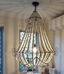 aspley chandelier install