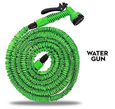 25 foot garden hose. house of quirk expandable upto 25 feet garden hose \u0026 spray nozzle combo best water collapsible, lightweight, rubber, coiled great for gardening, pools, foot
