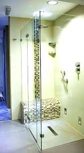 shower kits with seat walk in shower units with seat shower enclosures with seat glass shower