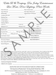 Resume Disc Jockey Resume