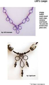 lilli s loops wire and beads necklace made with wigjig jewelry making tools and jewelry supplies