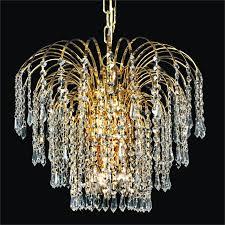 waterfall crystal chandelier cascade 532td19gf 7c