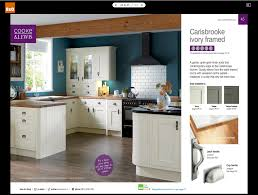 Bq It Kitchen Doors Carisbrooke Ivory Framed Kitchen B Holiday Hideaway