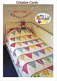 20 best Bunting quilts images on Pinterest | Buntings, Sewing ... & simple baby quilt - perhaps add baby's name to the flags by love_y Adamdwight.com