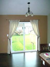 curtains and ds for sliding glass doors fabulous door curtain ideas