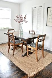 dining room area rug jute rug under dining table area rug ideas black and white jute kitchen rug