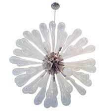 large murano blown glass chandelier